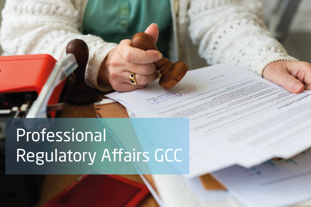 Professional Regulatory Affairs GCC Certification ( Live Online)